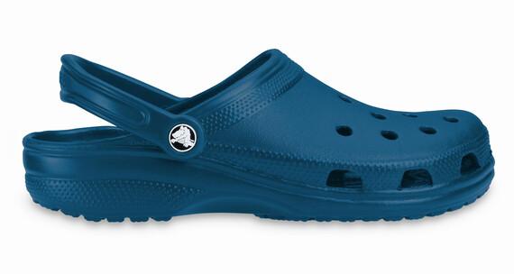 Zuecos Crocs Classic azul marino